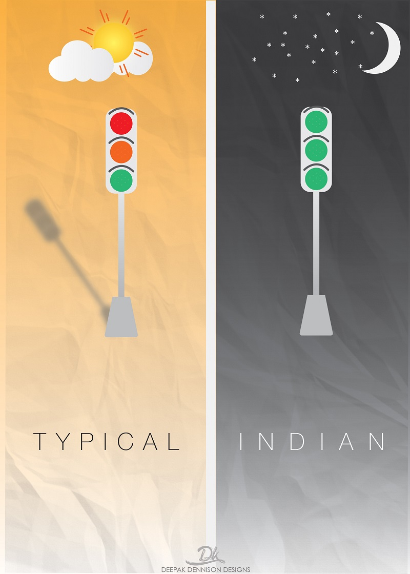 Traffic Rules- Typical Indian