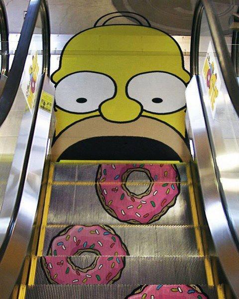 graphic-guerrilla-marketing-the-simpsons
