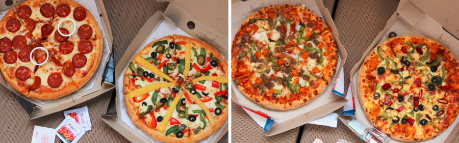 compare of pizza hut and dominos pizza essay Considering buying a fast food pizza franchise this article compares the differences between a domino's pizza franchise and a pizza hut franchise.